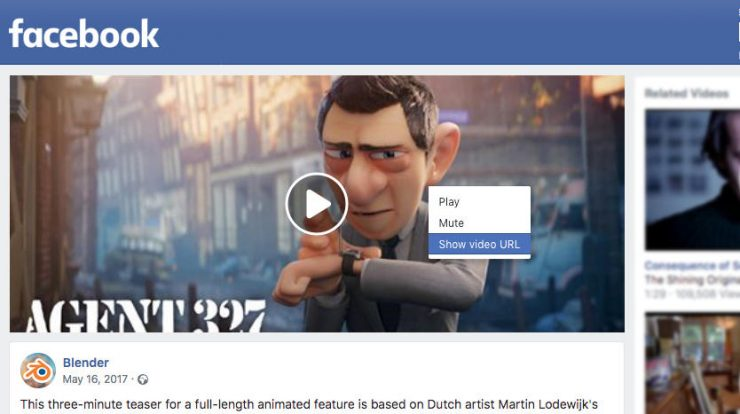 Download Facebook video